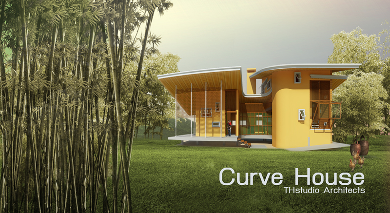 Curve House Panarama -THstudio Architects